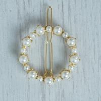 Pearl Ring Hair Clip