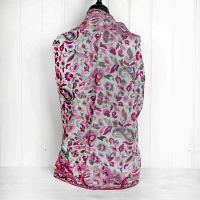 Pink Paisley Abstract Cashmere Wrap