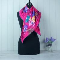Pink Silk Scarf - M