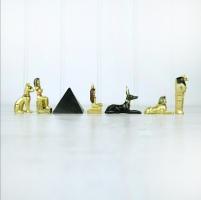 Set of 6 Mini Egyptian Figures