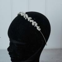 "Silver ""Floral"" Tiara/hairband"