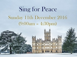 Sing for Peace: 11th December