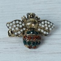 Small Bee Brooch