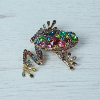 Small Frog Brooch