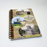 Spiral Bound Highclere Castle Notebook