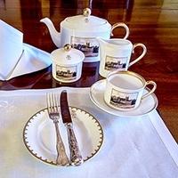 Tea at the Castle