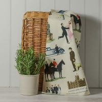 Downton Style Tea Towel