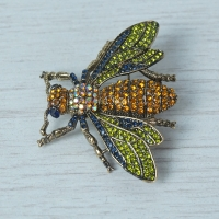 """Vintage style """"Fly"""" Brooch"""
