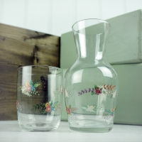 Water Carafe - floral design