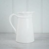 Medium White Jug